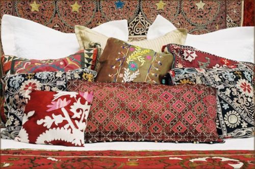 Silk Pillows - Uzbekistan